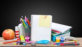 School desk Royalty Free Stock Photography