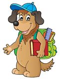 School dog theme image 1 Royalty Free Stock Photography