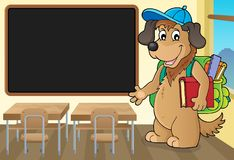 School dog theme image 3 Royalty Free Stock Photography