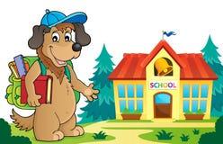 School dog theme image 5 Stock Photo