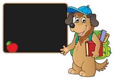 School dog theme image 4 Stock Image