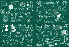 School Doodle Royalty Free Stock Photography