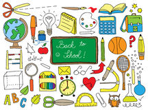 School doodle Royalty Free Stock Image