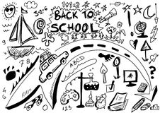 School Doodle Stock Photos