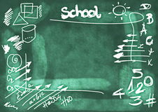 School Doodle background Stock Image