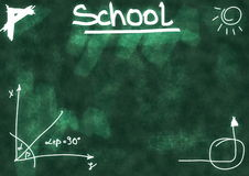 School Doodle background Royalty Free Stock Photos
