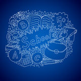 School doodle object Stock Images
