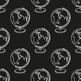 School doodle seamless pattern Royalty Free Stock Photo