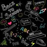 School doodles Royalty Free Stock Photo