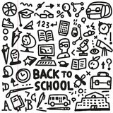 School - doodles set Royalty Free Stock Photography