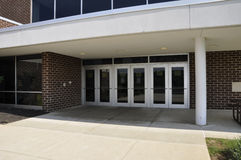 School doors royalty free stock image