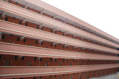 School dormitory building Royalty Free Stock Image