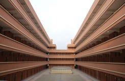 School dormitory building. Royalty Free Stock Image