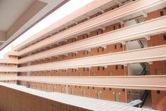 School dormitory building Royalty Free Stock Photo