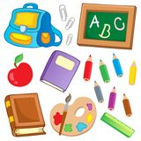 School drawings collection 2 Stock Photography