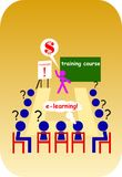 School E-learning Stock Images