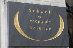 School of Economic Science in London Royalty Free Stock Photos
