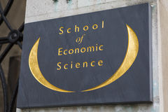 School of Economic Science in London Stock Images