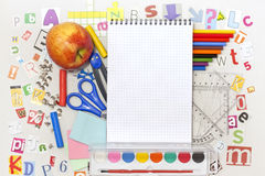 School education background Royalty Free Stock Image