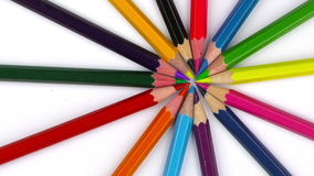 School Education Equipment Tools Pencils stock footage