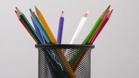 School Education Equipment Tools Pencils stock video footage