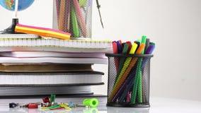 School Education Equipment Tools stock footage