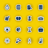 School and education icon set Stock Photography