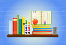 School education items Royalty Free Stock Photography