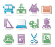 School and education objects Royalty Free Stock Photography