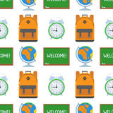 School and Education Seamless Pattern Royalty Free Stock Photography