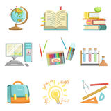 School Education And Studies Related Illustrations Royalty Free Stock Images