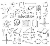 School and education symbols Stock Images