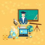 School and education teachers classroom Royalty Free Stock Photography