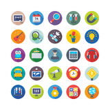 School and Education Vector Icons 3 Royalty Free Stock Photo