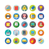 School and Education Vector Icons 5 vector illustration