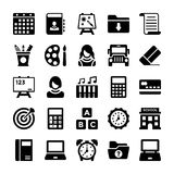 School and Education Vector Icons 2 vector illustration