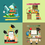 School and Education vector illustration Stock Photography