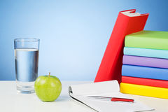 School and Education - White Desktop Royalty Free Stock Photos