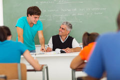 School educator student Stock Photography