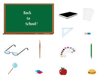 School elements Stock Photography