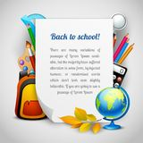 School elements background Royalty Free Stock Image