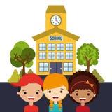 School elements design Stock Images