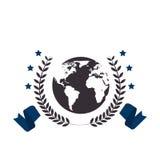 School emblem frame icon Stock Images