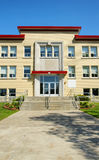 School entrance vertical Stock Image