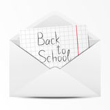 School envelope Stock Photos