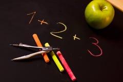 School equation Stock Image