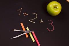 School equation Stock Photos