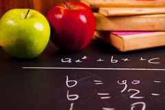 School equation Stock Photos