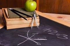 School equation Stock Photography