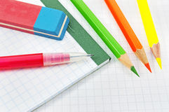 School equipment for children Stock Photo